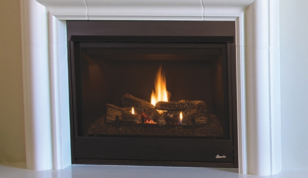 Superior DRT3033 Pro Series 33 Rear Vent Fireplace With