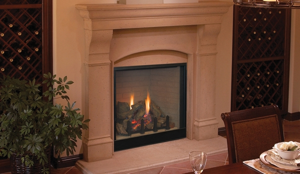 Superior DRT4036 Traditional 36 Direct Vent Fireplace