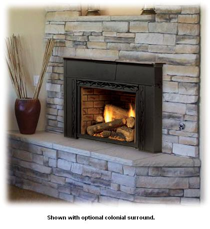 home fireplace inserts gas fireplace inserts monessen topaz