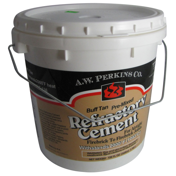 how to make refractory cement