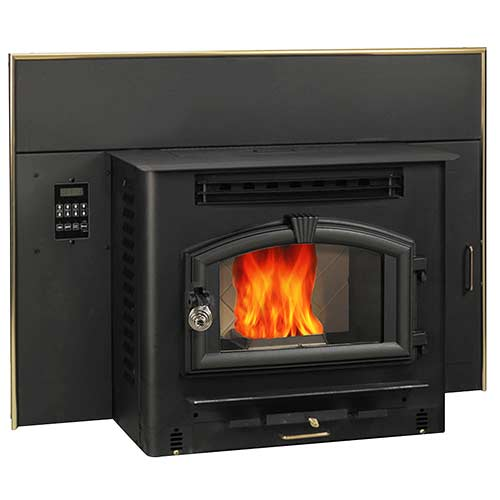us stove corn and pellet burning fireplace insert
