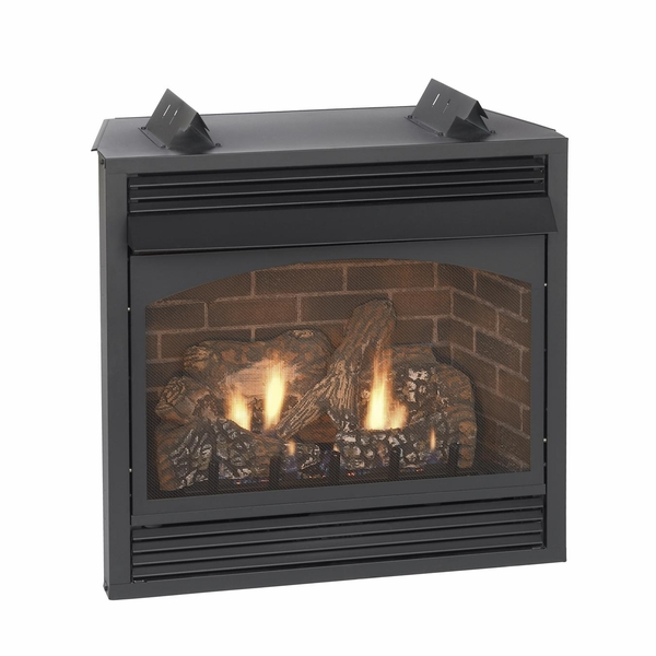 Empire Vail Premium Vent-Free Natural Gas Fireplace with Blower - 32 - Similiar Gas Log Fireplace Inserts With Blower Keywords