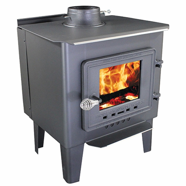 Vogelzang Frontiersman Wood Burning Stove With Viewing