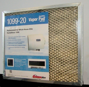 General Aire Humidifier Pad Model 1099-20. Fits several General Aire and Williamson models