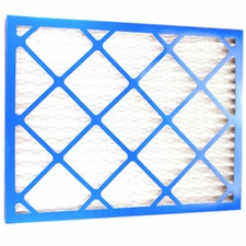 ZLP 20202 Pleated Filter - Nominal size 20 x 20 x 2. Actual size 19 1/2  x 19 1/2 x 1 3/4