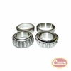 Differential Carrier Bearing Kit, 2 Bearings & 2 Cups, for Dana 44 Front or Rear Axle