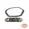 Differential Carrier Shim Set, Includes Cover Gasket, for Dana 44 Front or Rear Axle