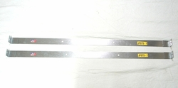 Fuel Tank Straps, 1963-1979 Jeep� Pickup 18 gallon gas tank straps (pair) without bolts