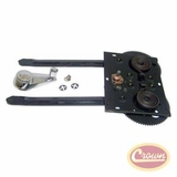 Rear Window Regulator Kit for 1974-1991 Jeep SJ, Wagoneer, Cherokee