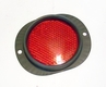 Reflector with Red Lens for Kaiser Jeep M715 Truck