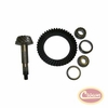 Ring Gear & Pinion Set, 3.54 Ratio, for Dana 44 Front or Rear Axle