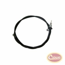 """Speedometer Cable Assembly W/O Cruise Control, 81"""" Long, Grand Wagoneer 1980-1991 with 228/229 Transfer Case"""