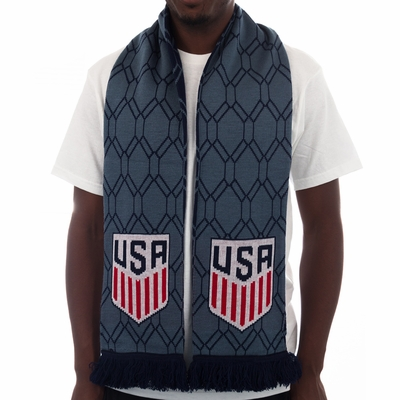 2016 USA Blue Hex Scarf - Click to enlarge