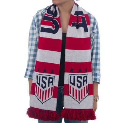 2016 USWNT 3 Stars Scarf - Click to enlarge