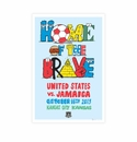Limited Edition World Cup Qualifier Commemorative Signed Poster - Kansas City