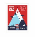 Limited Edition World Cup Qualifier Commemorative Unsigned Poster - Denver