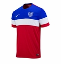 Men's Nike USA 2014/2015 Away Stadium Jersey