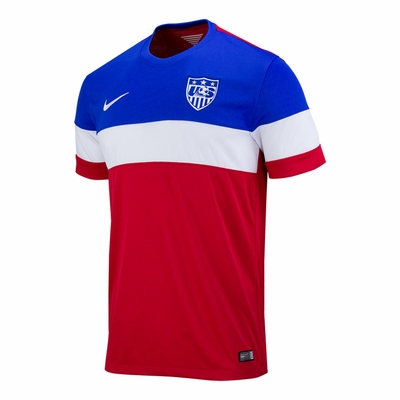 Men's Nike USA 2014/2015 Away Stadium Jersey - Click to enlarge