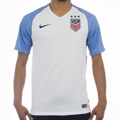 Men's Nike USA 2016 3-Star Home Jersey - Click to enlarge