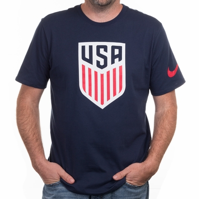 Men's Nike USA Crest Tee - Obsidian - Click to enlarge