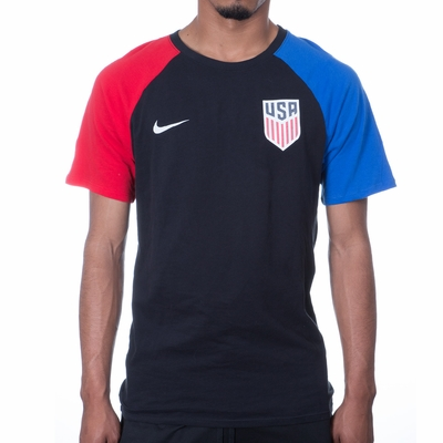Men's Nike USA Match Tee - Black - Click to enlarge