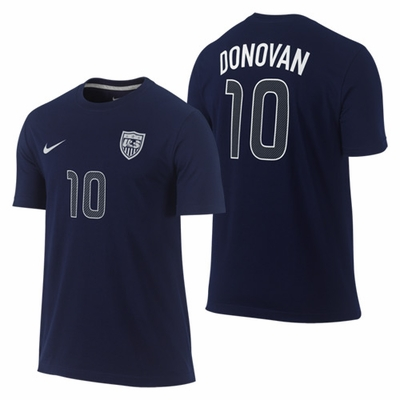 Nike U.S. Soccer Donovan Boy's Player Tee - Click to enlarge