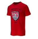 Nike U.S. Soccer Property Of Tee - Red