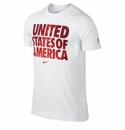 Nike USA Core Type Tee - White
