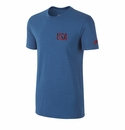 Nike USA Covert Tee - Military Blue
