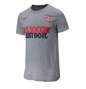 Nike USA JDI Core Tee - Heather