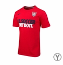 Nike USA Youth JDI Core Tee - Team Red