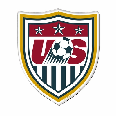 U.S. Soccer Hi-Definition Crest Magnet - Click to enlarge