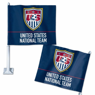 U.S. Soccer National Team Car Flag - Click to enlarge