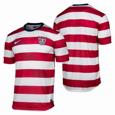 U.S. Soccer Nike 2012/2013 Replica Home Jersey - Click to enlarge