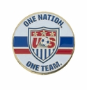 U.S. Soccer One Nation Coin