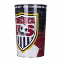 U.S. Soccer Trash Can