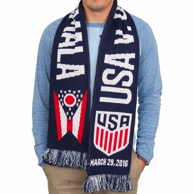 USMNT vs Guatemala Columbus Event Scarf - Click to enlarge