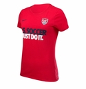 Women's Nike USA JDI Core Tee - Team Red