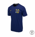 Youth Nike USA Donovan 10 Tee - Navy