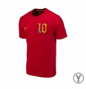 Youth Nike USA Donovan 10 Tee - Red