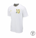 Youth Nike USA Donovan 10 Tee - White