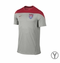 Youth Nike USA Squad SS Training Top - Grey