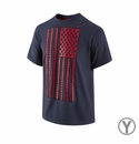 Youth Nike USA Team TD Tee - Obsidian