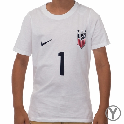 Youth Nike USWNT Hope Solo Replica Tee - Click to enlarge