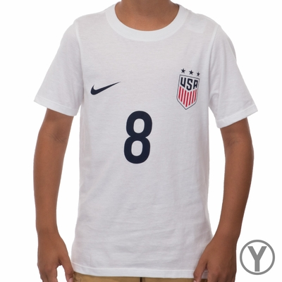 Youth Nike USWNT Julie Johnston Replica Tee - Click to enlarge
