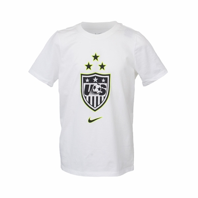 Youth USWNT 3-Star Crest Victory Tour Dates Tee - Click to enlarge