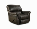 50365 Cocoa Brown Bonded Leather Motion Sofa & Love Seat Simmons