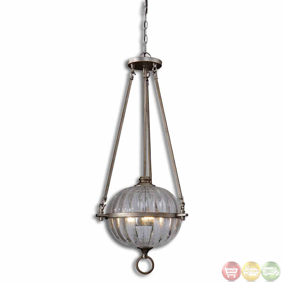 alicante transitional 3 light orb pendant 21969