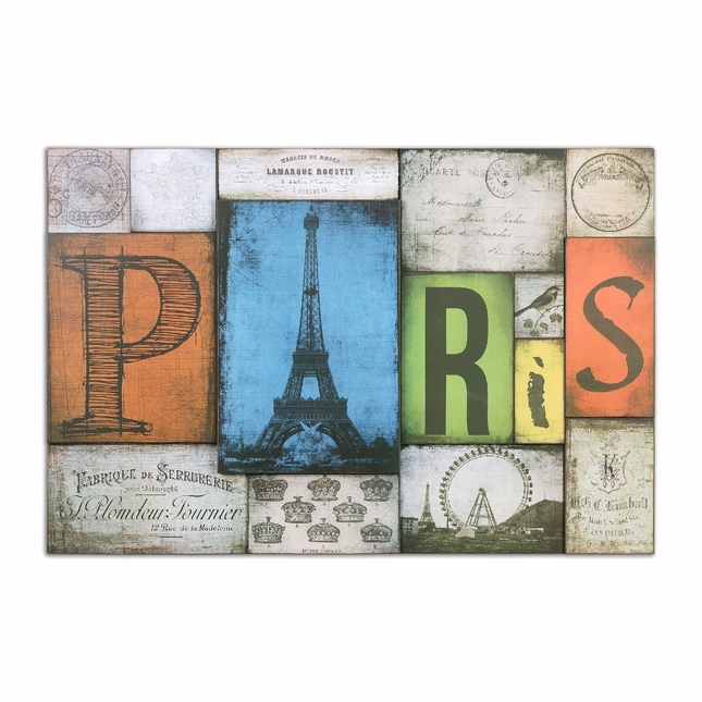 All Things Paris Sand Texture Print Art 55014