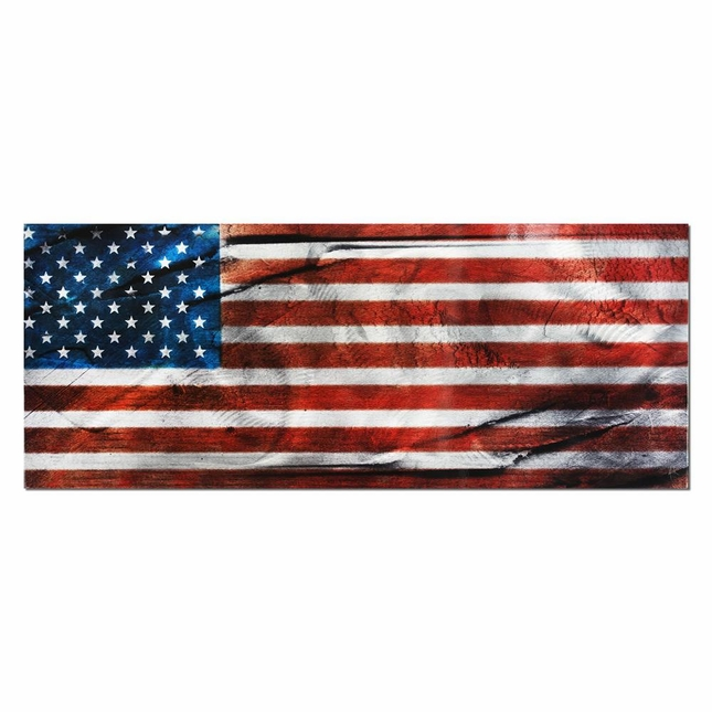 American Glory - Urban American Flag Wall Art - L0038